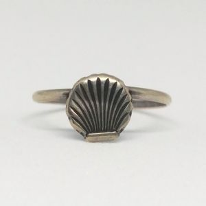 Sea Shell Ring Sterling Silver